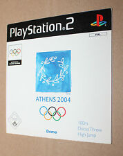 Playstation 2 promo Demo DVD Not for Resale Pal Ver Athens 2004 (video game)
