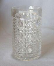 FEDERAL GLASS WINDSOR WATER TUMBLERS 6 ROYAL BRIGHTON VINTAGE LOT 11 OZ