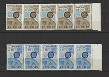 FRANCE 10 timbres neufs 1967  EUROPA  /T3240