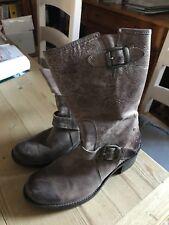 Goldmud Stiefel /Boots  braun schlamm