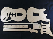 Guitar Template set  Stratocaster cnc made 100% accurate templates .