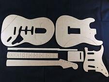 Conjunto de la plantilla de Guitarra Stratocaster CNC hecho 100% exacta plantillas.