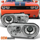 Fit 2008-2014 Dodge Challenger HID Xenon Type Projector Headlights Replacement  for sale