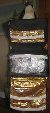 Mary Kay MK Consultant Gold Insulated Cosmetic Bag Organizer Supplies & Samples