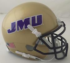 JAMES MADISON DUKES NCAA Schutt XP Authentic MINI Football Helmet