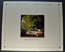 1998 Mercury Grand Marquis Catalog Brochure GS LS Excellent Original 98