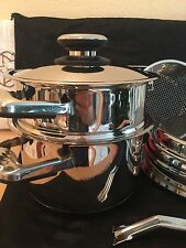 Platinum Professional SURGICAL STEEL Cookware 4Qt Roaster & NEW: Pot, 2,,,