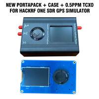 New Vesion PORTAPACK 0.5ppm TXCO HACKRF ONE 1MHz-6GHz SDR Software Defined Radio