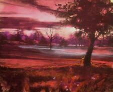 Matthew Peak, Remember Morning, Hand tinted lithograph Fine Art SUBMIT OFFER!