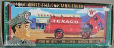 TEXACO 1949 WHITE TILT CAB TANK TRUCK ERTL DIECAST