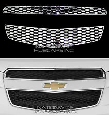 10-13 CHEVY EQUINOX CHROME Snap On Grille Overlay Front Grill Covers Inserts New