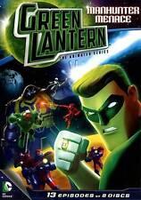 Green Lantern: The Animated Series - Manhunter Menace (DVD, 2013, 2-Disc Set)