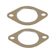 For BMW E46 Exhaust Manifold Gasket Set Of 2 Catalyst to Center Muffler
