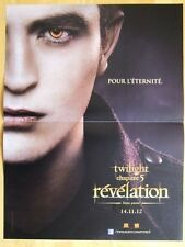 AFFICHE - TWILIGHT CHAPITRE 5 REVELATION ROBERT PATTINSON