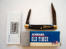 USA MADE SCHRADE  X-TIMER  24OTX   FOLDING KNIFE