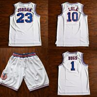 Space Jam Tune Squad Basketball Jersey Lola Bugs Bunny WHITE #1 #10 #23