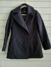Rag & Bone Navy Blue Peacoat with removable lining - US 6