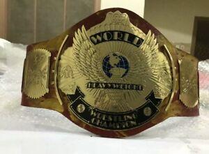 Hulk Hogan Hulkmania Signature Series  Championship Replica Title Belt Champions