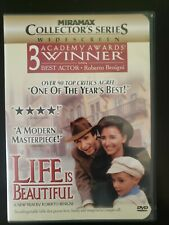 Life Is Beautiful Dvd Collectors Series With Case & Cover Art Buy 2 Get 1 Free