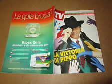 FAMIGLIA TV GENNAIO 1992 P.BAUDO O.MUTI M.MASINIJ.DORELLI LAMBERTUCCI