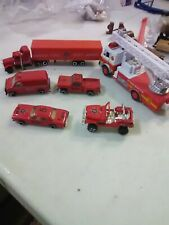 Toy Fire Department Emergency Vehicles