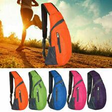 Unisex Chest Bag Pack Travel Sport Shoulder Sling Backpack Cross Body Outdoor