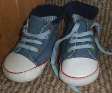 Chaussures bleus à lacets pour bébé
