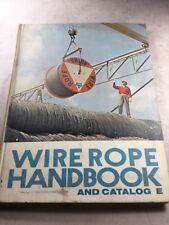 Armco Steel Corporation Wire Rope Handbook