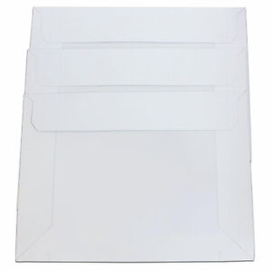 "Milcoast Adjustable Expandable White Mailer 9.5"" x 13"" for Documents Catalog"