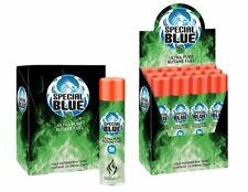 72 Cans - Butane Gas Special Blue 5X refined. Lighter Refill Wholesale Fuel