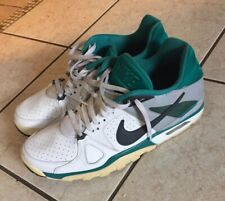 Nike Air Trainer Classic Mens Size 13 White Grey Sneakers Shoes 488059 100