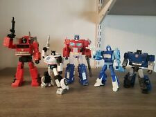 Transformers Studio Series Action Figure Lot Inferno Jazz Blurr Optimus Prime...