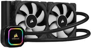 Corsair (CW-9060043-WW) iCUE H100i RGB PRO XT 240mm Liquid CPU Cooler