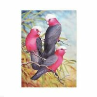 Red Birds 5D Full Drill Diamond Painting Cross Stitch Kits Embroidery Art Mural