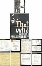 THE WHO REPRO MATERIEL OFFICIEL 65-69 UK