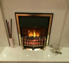 Brand New Alberto Style Gas Inset Fire - Coal Fuel Bed - 3.5Kw