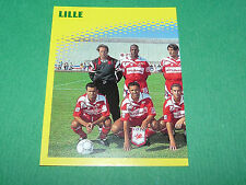 N°362 EQUIPE PART 1 LILLE OSC LOSC DOGUES D2 PANINI FOOT 98 FOOTBALL 1997-1998