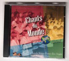 CD Chant Du Monde Chorale Notre Dame Des Anges Saint Amand Les Eaux