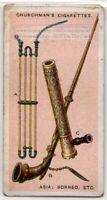Pipes Indonesia Sumatra Java Batak Sarawak Borneo 1920s  Ad Trade Card