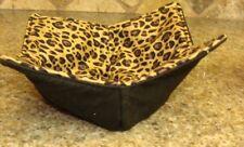 Microwave Bowl Holder Bowl Cozy Kozzie Bowl Potholder Black Leopard Bowl Cover