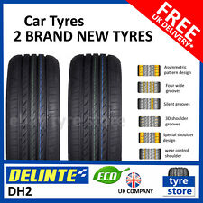 2X New 195 45 15 DELINTE DH2 78V 195/45R15 1954515 *B RATED WET GRIP* (2 TYRES)