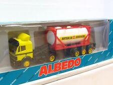 Albedo 1/87 MB Tankcontainersattelzug Bertschi AG Dürrenäsch OVP (TR9153)
