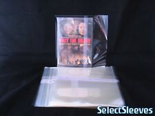 DVD Outer Sleeve RESEALABLE Side Seal Import Japan SelectSleeves 50pcs Archival
