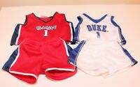 ❤️Build a Bear Plush Basketball Jersey Shorts Top Uniform Outfit Clothes Lot❤️