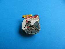 Mud Sweat & Gears Motorcycle Lapel badge. Enamel.