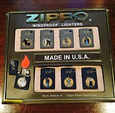 Zippo Lighters Collectable 8 Pieces Civil War Designs (Made in the USA)