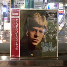 """JAPAN RSD 2018 DAVID BOWIE 2 x 12"""" RED & BLUE VINYL WITH OBI sent from BERLIN!!!"""