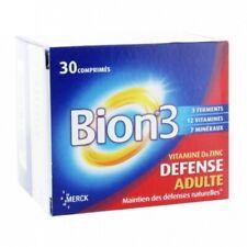 Bion 3 DEFENSE Adulte x 30 comprimés