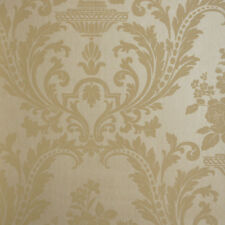 WALLPAPER CLASSIC DAMASK TEXTURED 10m Roll