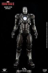 King Arts 1/9 DFS031Tony Stark Iron Man MK14Allory Diecast Figure model Toy